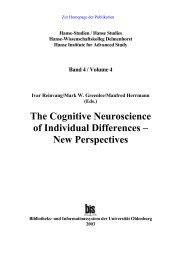 The Cognitive Neuroscience of Individual Differences – New ...