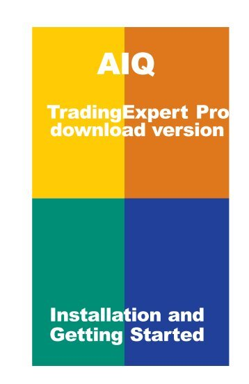 Aiq systems trading expert pro
