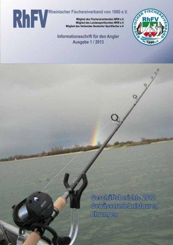 geschäftsberichte 2012 - Rheinischer Fischereiverband von 1880 eV