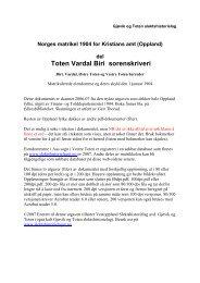 1904 Matrikkel Toten Vardal Biri ocr 100dpi v6.pdf - DIS-Norge