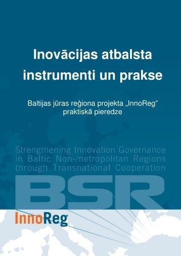 Inovācijas atbalsta instrumenti un prakse