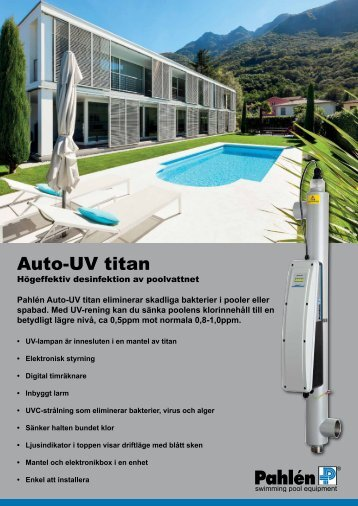 Auto-UV75 titan - Pahlen.se