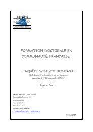Rapport final - Doctorat