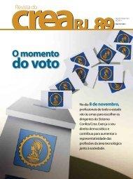 O momento do voto - Crea-RJ
