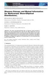 Shannon entropy and mutual information for multivariate skew ...