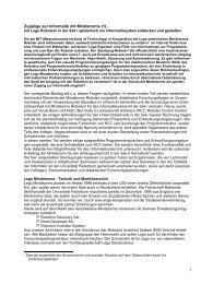 Zugänge zur Informatik mit Mindstorms - Didaktik der Informatik ...