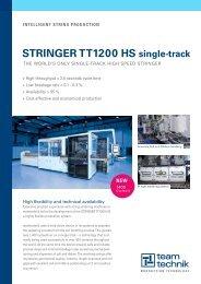 STRINGER TT1200 HS single-track - teamtechnik Maschinen und ...
