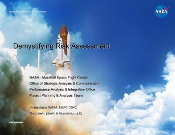 Demystifying Risk Assessment - North Alabama Chapter - Project ...