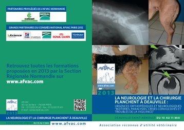 Deauville 10-11/05/13.indd - AFVAC