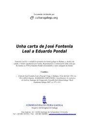 Unha carta de José Fontenla Leal a Eduardo Pondal