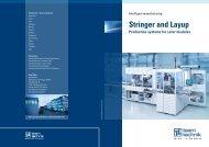 Stringer and Layup - teamtechnik Maschinen und Anlagen GmbH