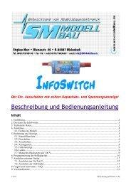 2. Das kann der InfoSwitch - SM-Modellbau