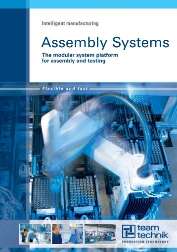 The modular system platform for assembly and testing