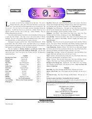 Zine 138.odt - S.O.B. Home