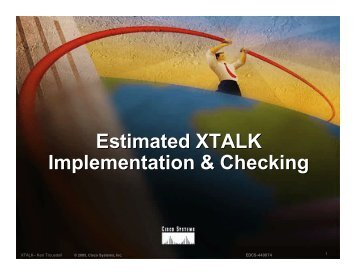Estimated Crosstalk Time Windows