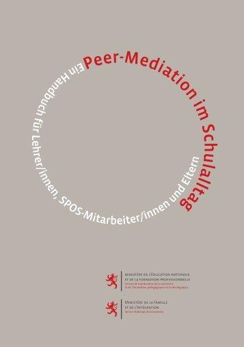 Peer-Mediation im Schulalltag : ein Handbuch für Lehrer