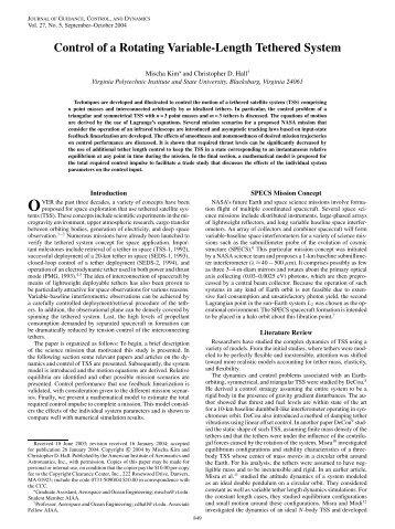 PDF (1005 KB) - AIAA - American Institute of Aeronautics and ...