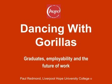 Dancing With Gorillas - HERODOT Network for Geography in Higher ...