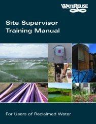 Site Supervisor Training Manual - WateReuse Association