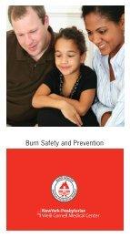 Burn Safety and Prevention - New York Presbyterian Hospital