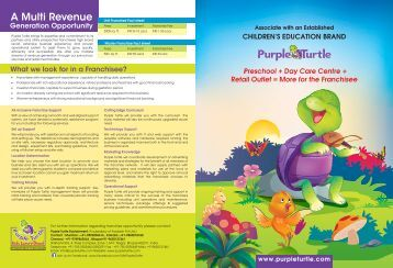 Download Brochure - Purple Turtle