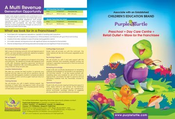 Download Brochure - Purple Turtle