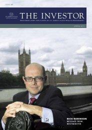 2011 Spring Investor Magazine - St James's Place