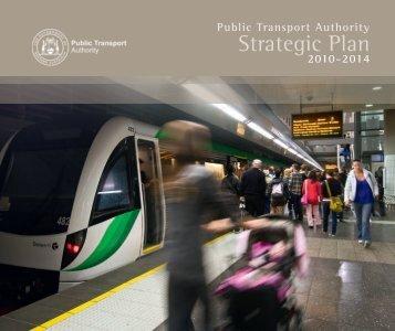 2010 - 14 Strategic Plan - Public Transport Authority