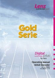Gold Expanded Manual - Lenz USA