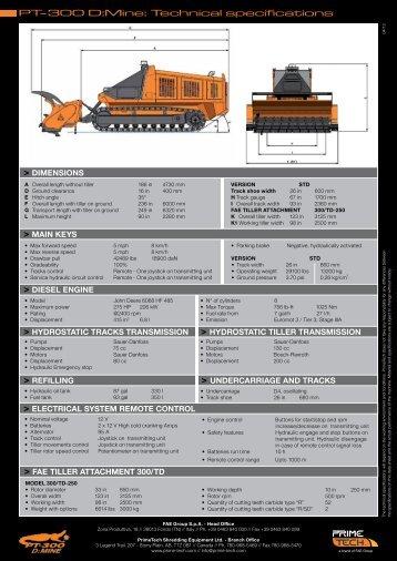 PT-300 DMine