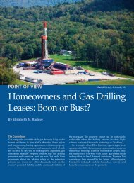 Homeowners and Gas Drilling Leases: Boon or Bust? - Concerned ...