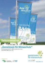 Dokumentation zur Kampagne - Landesarbeitsgemeinschaft ...