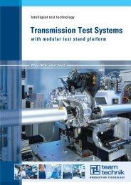 Transmission Test Systems - teamtechnik Maschinen und Anlagen ...