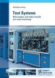 Test Systems - teamtechnik Maschinen und Anlagen GmbH