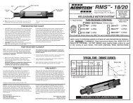 D13W-D24T Instructions - AeroTech
