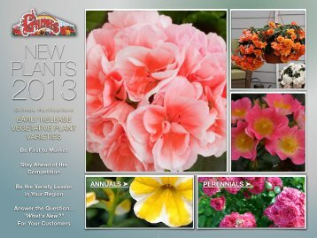 New in 2013 Seeds - Grimes Horticulture