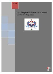 Download - The College of Anaesthetists of Ireland