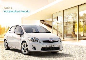 Auris - Toyota Ireland