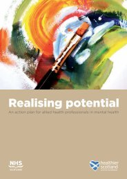 Realising Potential - Scottish Government