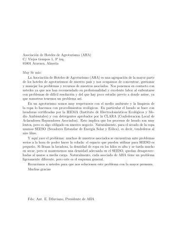 ejemplo de cartas de presentacion