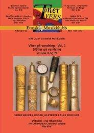 Katalog nr 31 - Velkommen til Etnisk Musikklubb