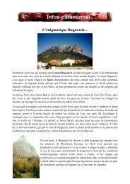 L'énigmatique Bugarach... - Page d'accueil