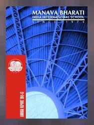Prospectus-Part II.cdr - Manava Bharati India International School.