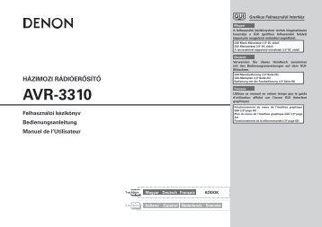 AVR-3310 - Horn