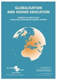 GLOBALISATION AND HIGHER EDUCATION - UCU
