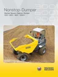 Nonstop-Dumper - Wacker Neuson