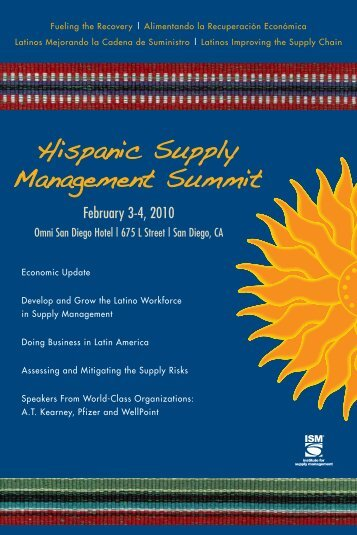 Download the Conference Brochure - Institute for Supply Management