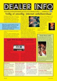 Dealer Info nummer 3/4 in pdf formaat.