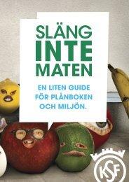 Släng inte maten - Konsumentföreningen Stockholm