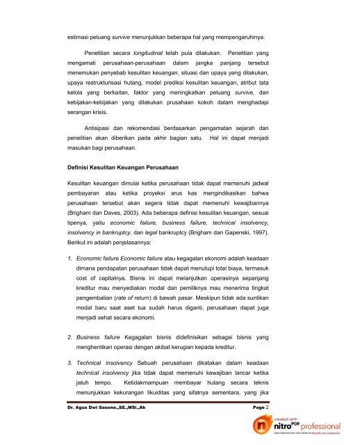 CASE 1 - Web Blog Agus Dwi Sasono